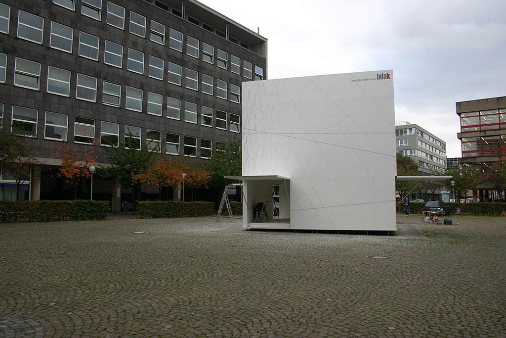 Fassadengrafik kubus hdak - Architektur kubus ...