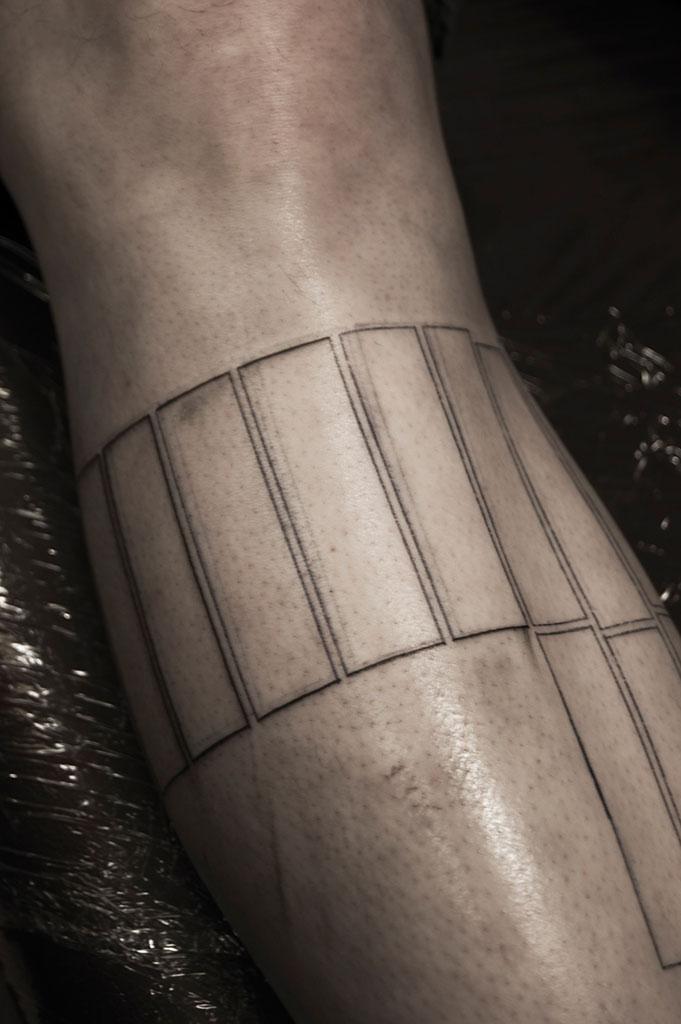 tattoo design grafik rechtecke