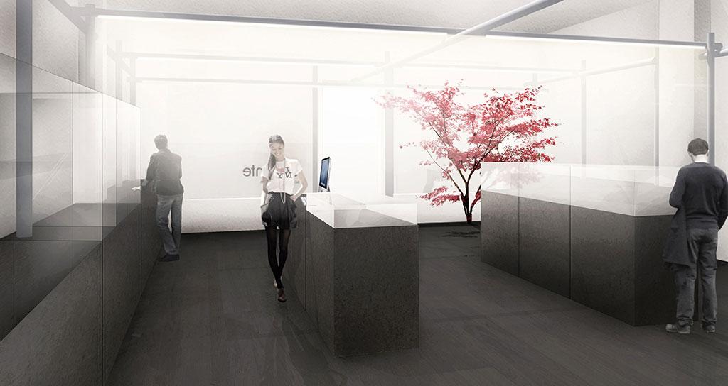 interieur design / juwelier a