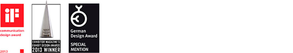 communication design award exhibit design award german design award