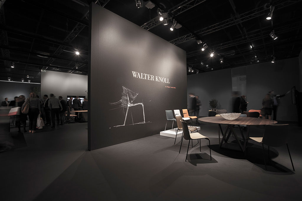 exhibition design messe orgatec process walter knoll. Black Bedroom Furniture Sets. Home Design Ideas