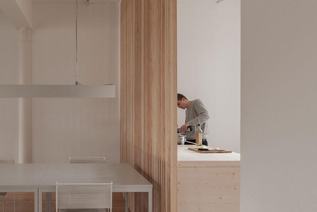 interieur design studio küche / experiment stille ll / 22quadrat